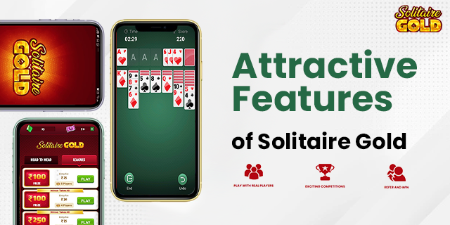 Solitaire Gold Features
